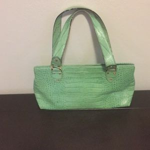 Kate Spade Chartreause small satchel